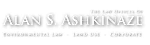 Law offices of Alan S. Ashkinaze : New Jersey Environmental Law, Land Use Law, Corporate Law